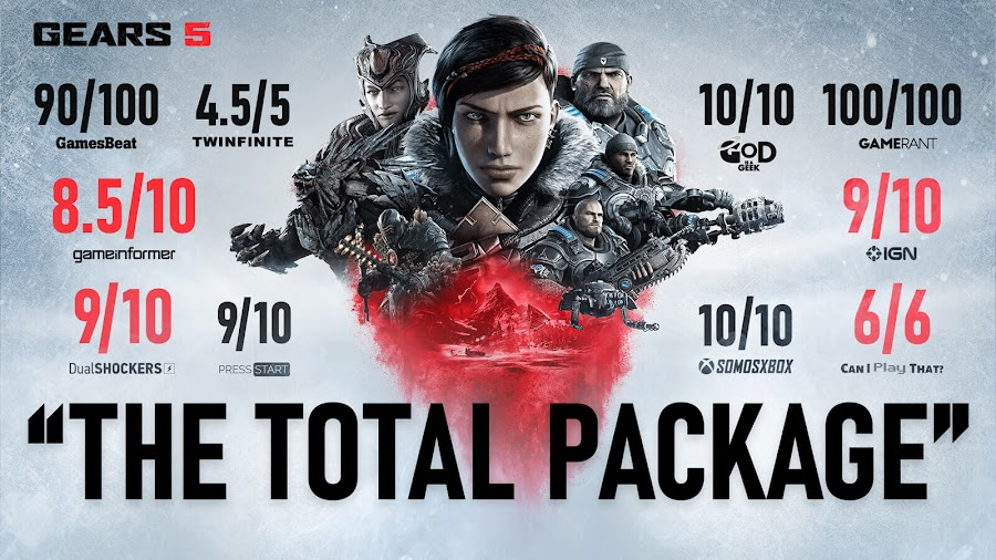 gears 5 critical hit xbox game studios biggest launch pc steam xbox one game pass