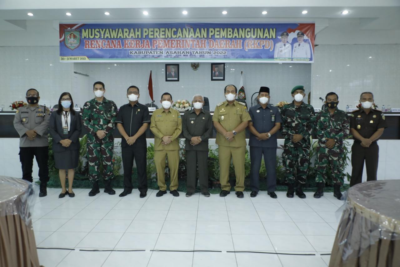 Gelar Musrenbang RKPD Kabupaten Asahan Tahun 2022, Bupati Asahan Prioritaskan 10 Program .