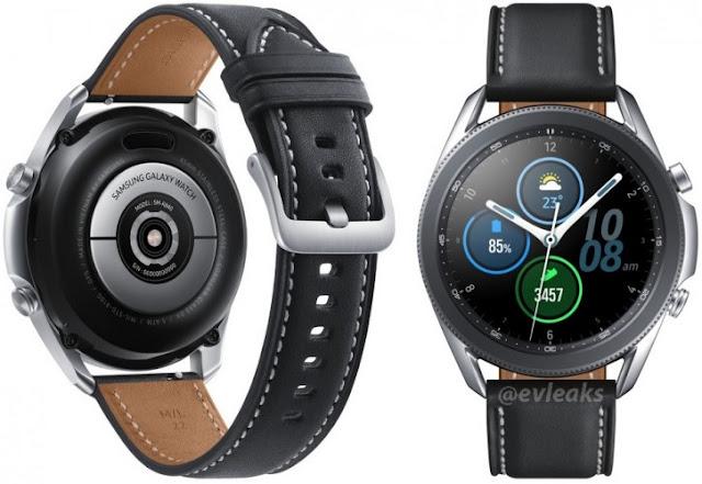 تسريب صورة رسمية للساعة الذكية Galaxy Watch 3