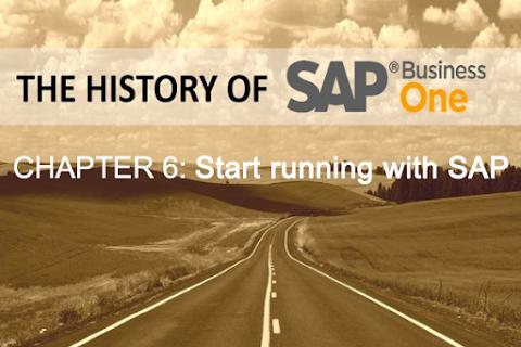Lịch sử SAP Business One (Phần 6): Sự khởi đầu với SAP