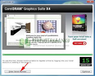 Cara Instal dan Mengaktivasi CorelDraw X4