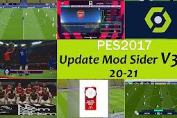 Mods Sider 2020 (Low/Med/High) V3 AIO + Update V3.1 - PES 2017