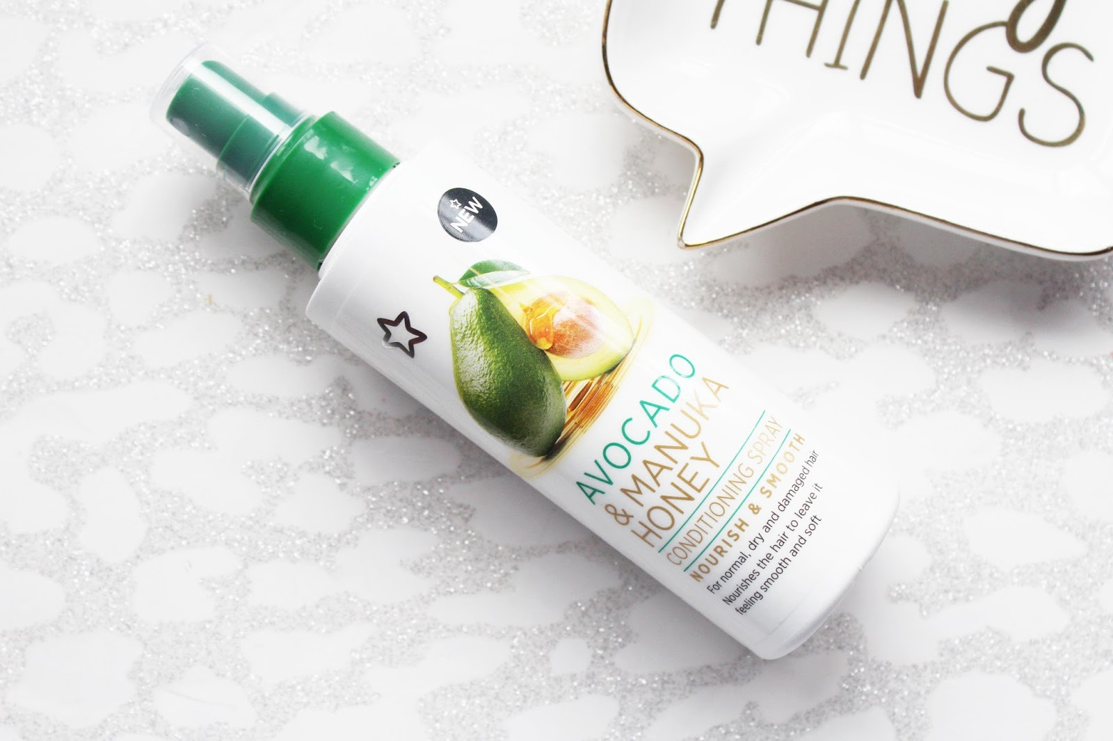 Superdrug Avocado & Manuka Honey Hair Care