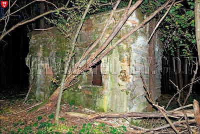 Второй немецкий бункер. Вспомогательный