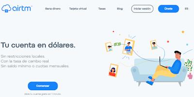 Análisis de Airtm 2020 - Plataforma de pagos online