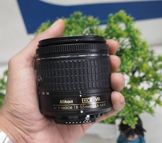 Jual Lensa Nikon  AF-P DX 18-55mm Second
