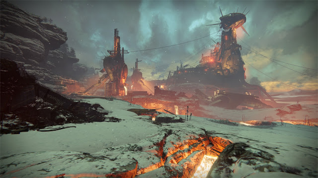 Review – Destiny, Rise of Iron plaguelands