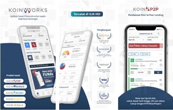 Aplikasi Koinworks