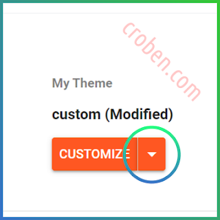 Restore Themes In Blogger Step 2