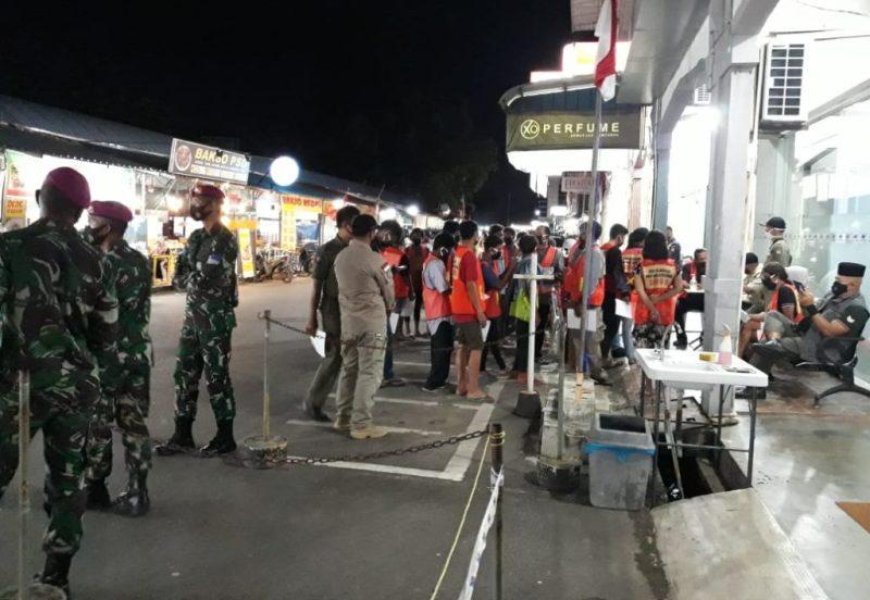 Turun dalam Razia Masker, Syamsul Dapati 3 Orang Tak Pakai Masker