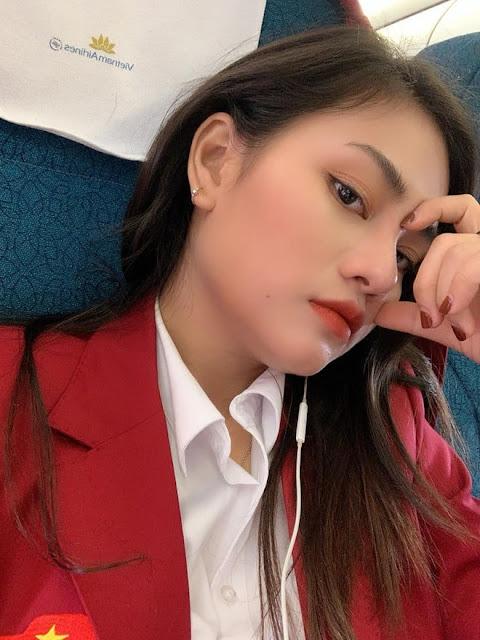 Nhan sắc Hotgirl của bác sĩ vật lí trị liệu trong Đoàn thể thao Việt Nam dự SEA Games 30 - 3