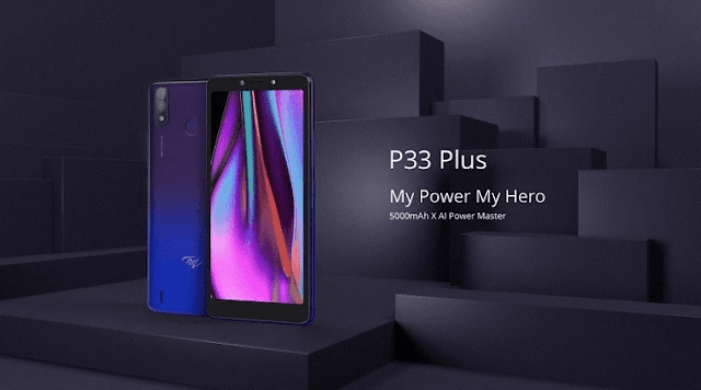 Itel P33 Plus with dual cameras and 5,000mAh battery launched in the Philippines