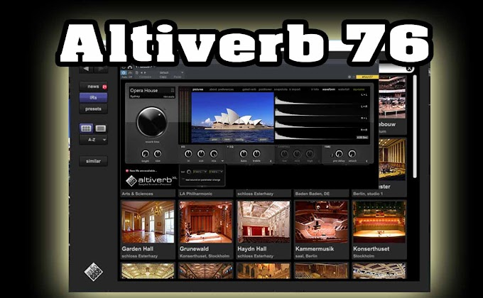 Altiverb 7 by Audioease - XL 7.2.6 VST, AAX x86 x64