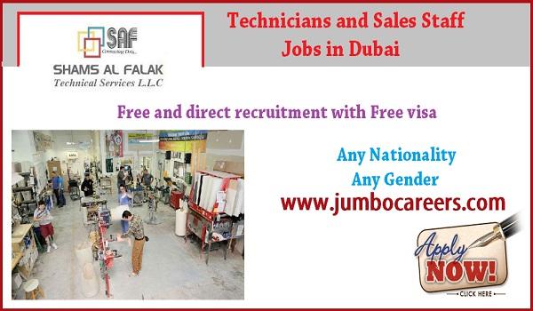 Latest job openings in Dubai, Dubai jobs for Indians,