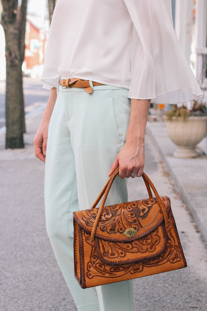 Mint Pants Spring New England Style