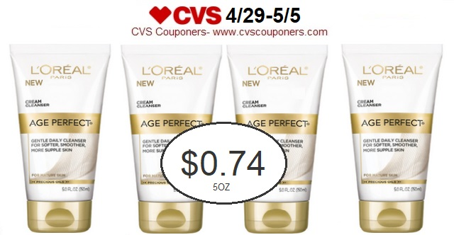 http://www.cvscouponers.com/2018/04/stock-up-pay-074-for-loreal-age-perfect.html