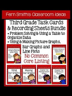 Fern Smith's Classroom Ideas Third Grade Math Unit Two Task Cards Bundle without Common Core at TeachersPayTeachers