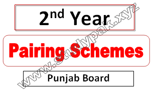 paper schemes of 2nd year 2021
