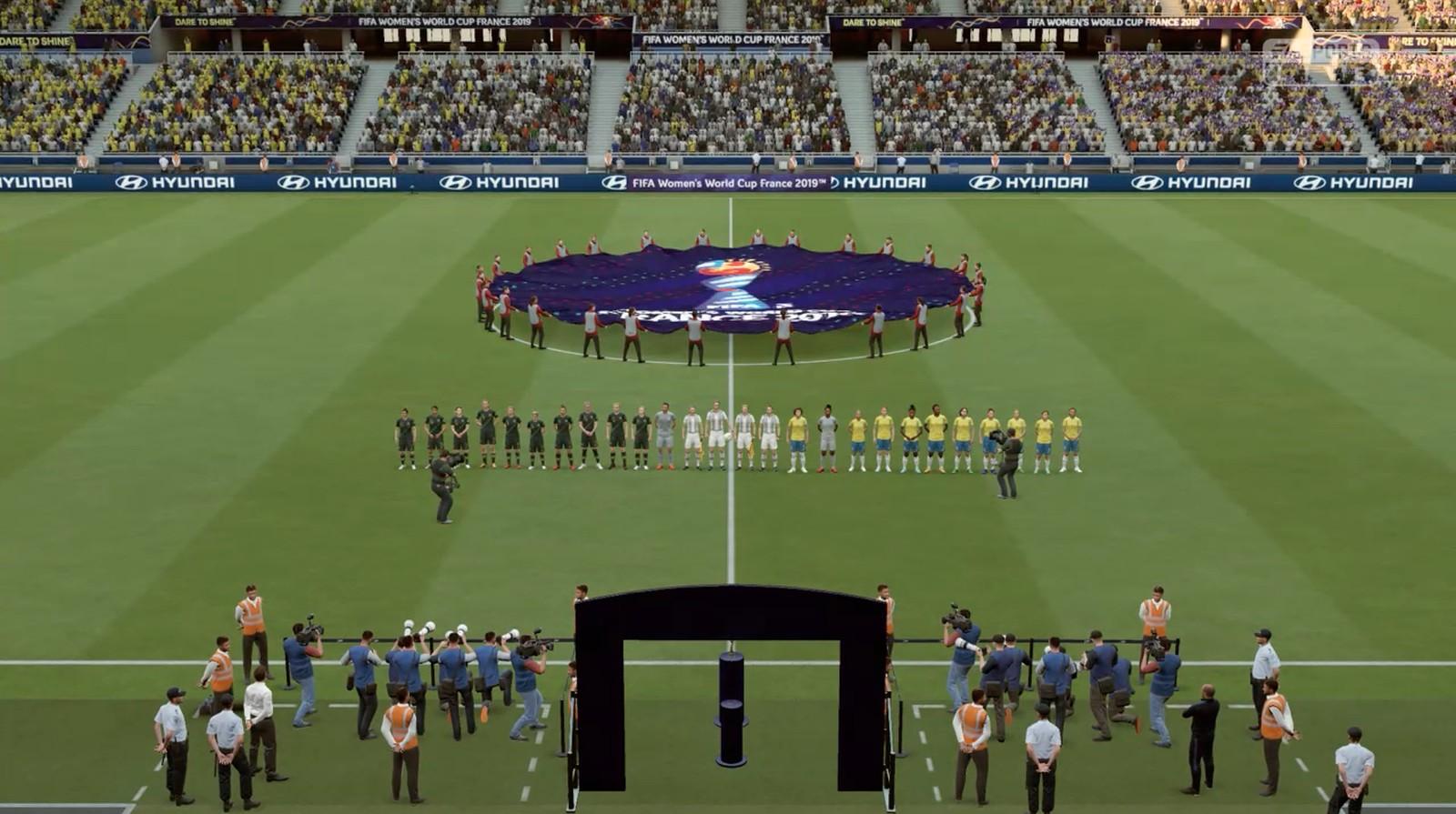 FIFA 19 ganha atualização com a Copa do Mundo de Futebol Feminino