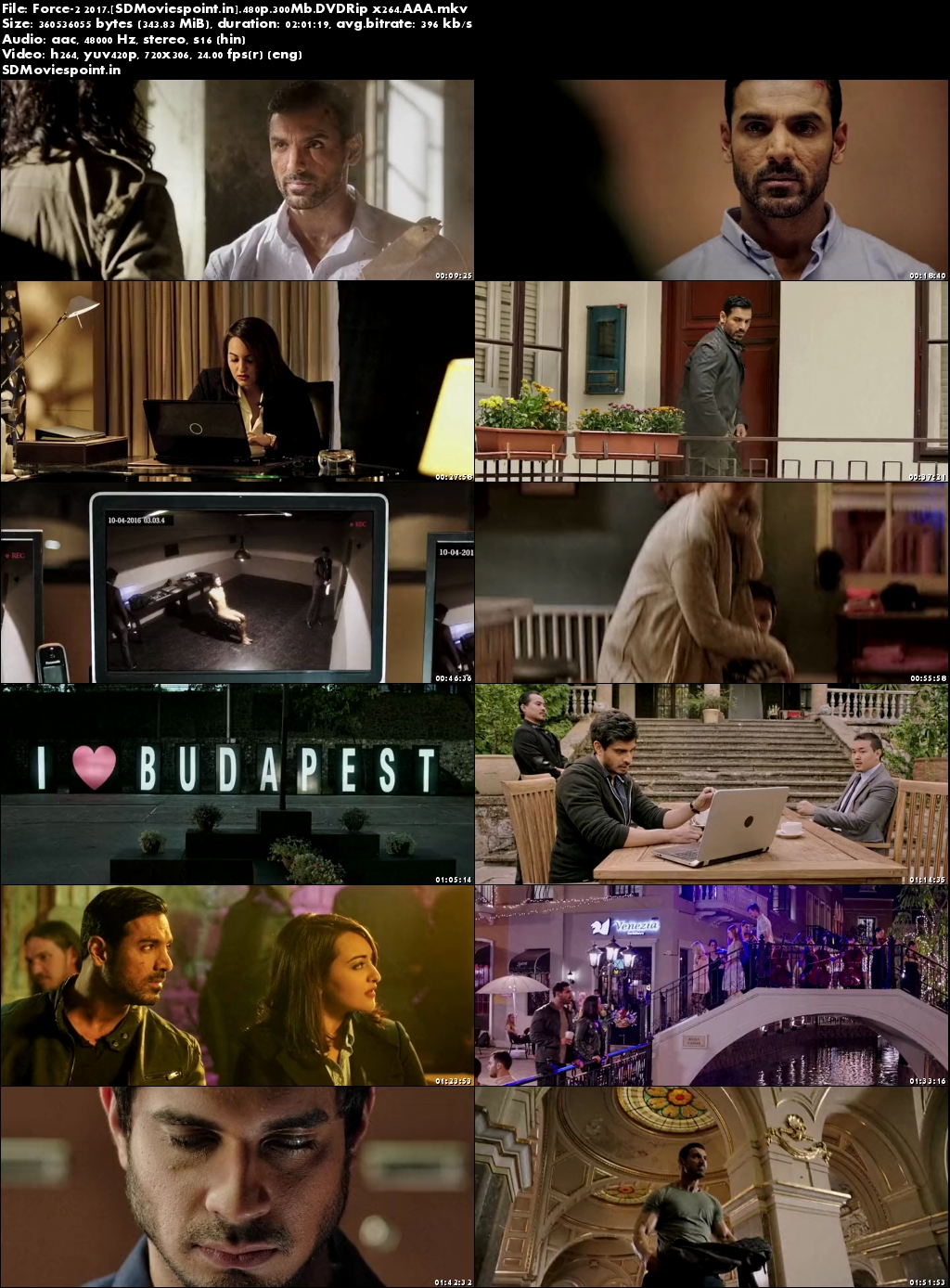 Screen Shots Force 2 (2016) Full HD Movie Download 720p Free