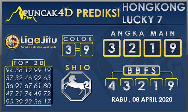PREDIKSI TOGEL HONGKONG LUCKY7 PUNCAK4D 08 APRIL 2020
