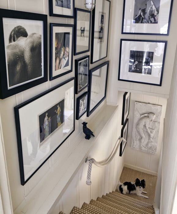 50 Creative Staircase Wall decorating ideas, art frames ... on Creative Staircase Wall Decorating Ideas  id=90947