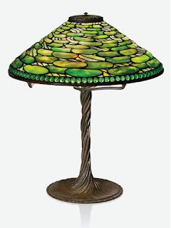 Lámpara Lily Pad de Tiffany