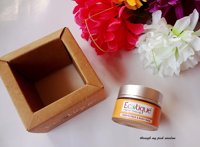 Ecotique 5 earth face and body pack review @throughmypinkwindow