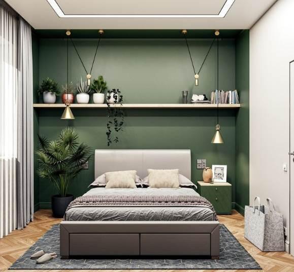 Desain Ruangan Rumah minimalis 1 Lantai bagian ruang kamar