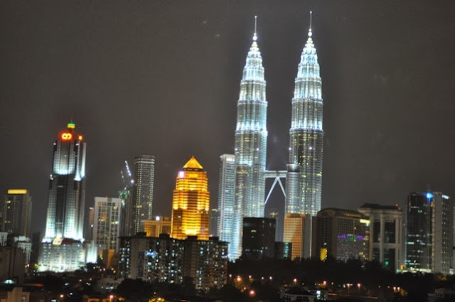 View of Petronas Twin Towers from Cititel Express Hotel