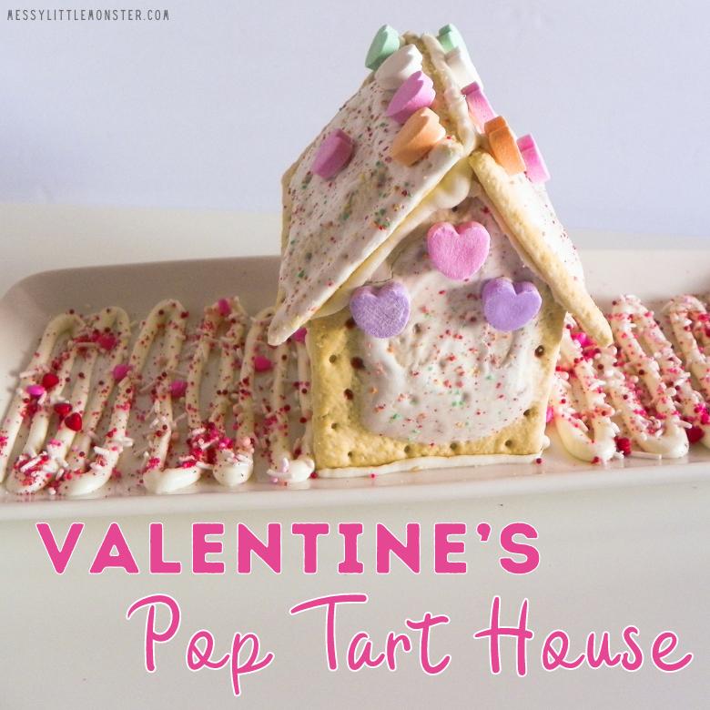 Valentine's pop tart house
