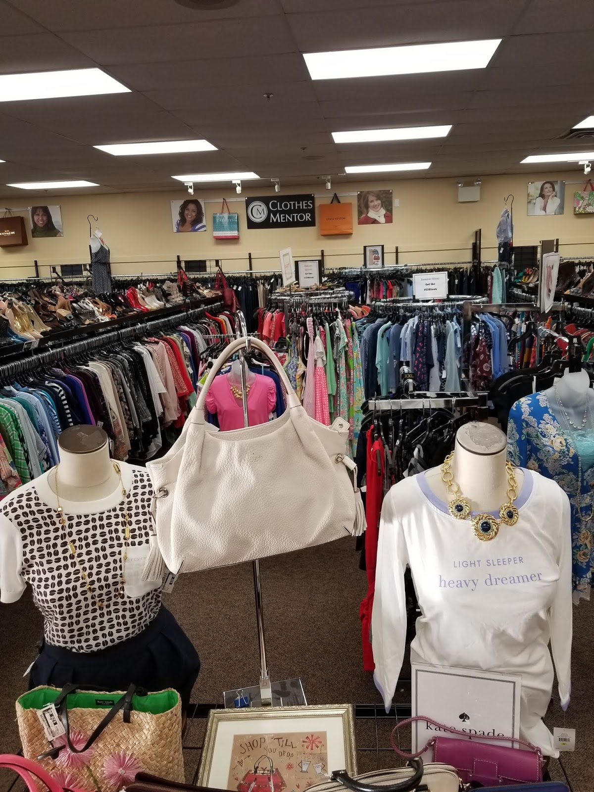 87ce8f730e1 Clothes Mentor is a resale shop where you can find designer brands up to  70% off the retail price. They carry everything from clothing ...