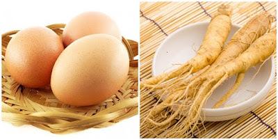 Món sâm hấp trứng rất có lợi cho người mắc bệnh mãn tính
