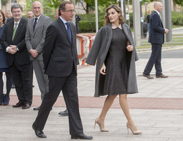 Queen Letizia attends congress on Rare Diseases in Bilbao