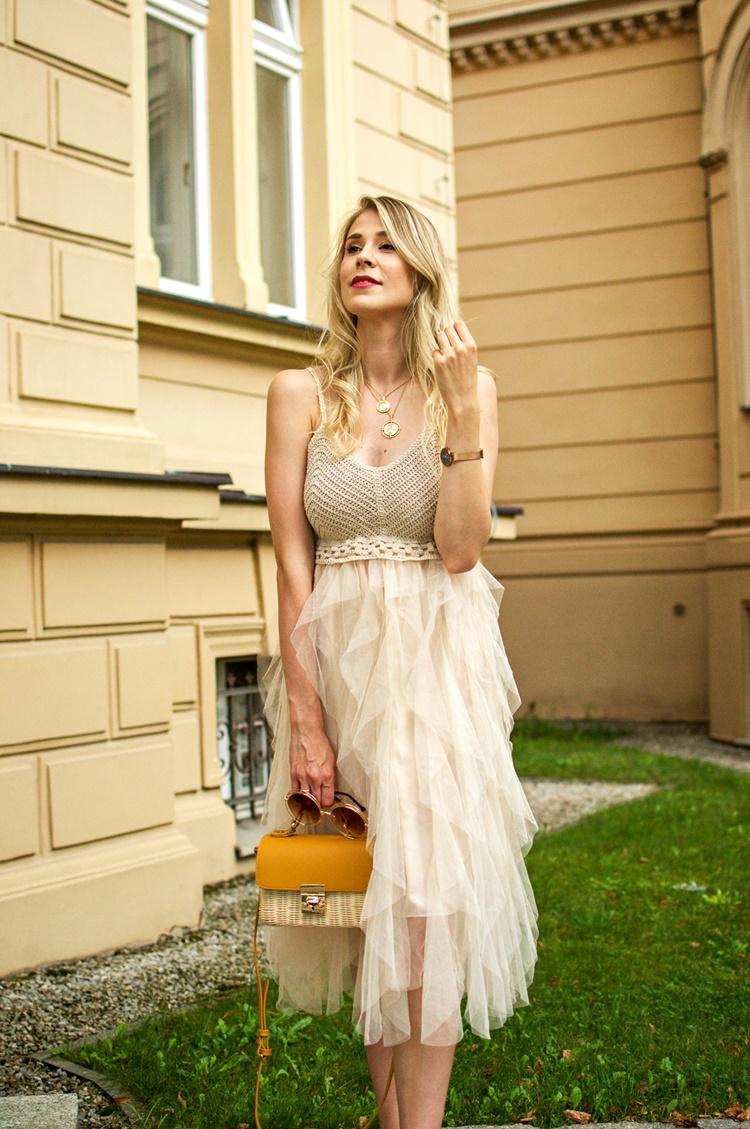 Sukienka z falbanami kolejna perełka z Aliexpress