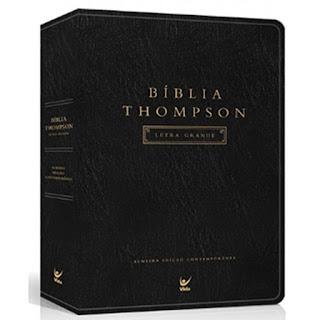 Bíblia Thompson. Letra Grande. Capa Preta (Português)