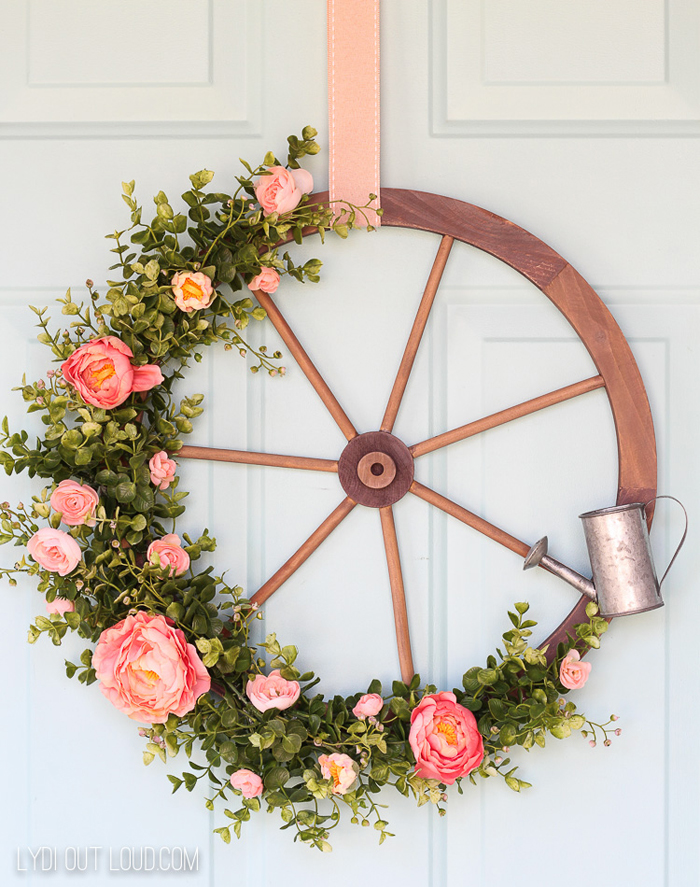 Wagon Wheel Decoration Ideas