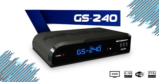 Globalsat GS240 Atualização V2.80 - 28/05/2021