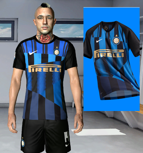 Internazionale new kit for  Derby milano for pes 2017 by Jooh 74