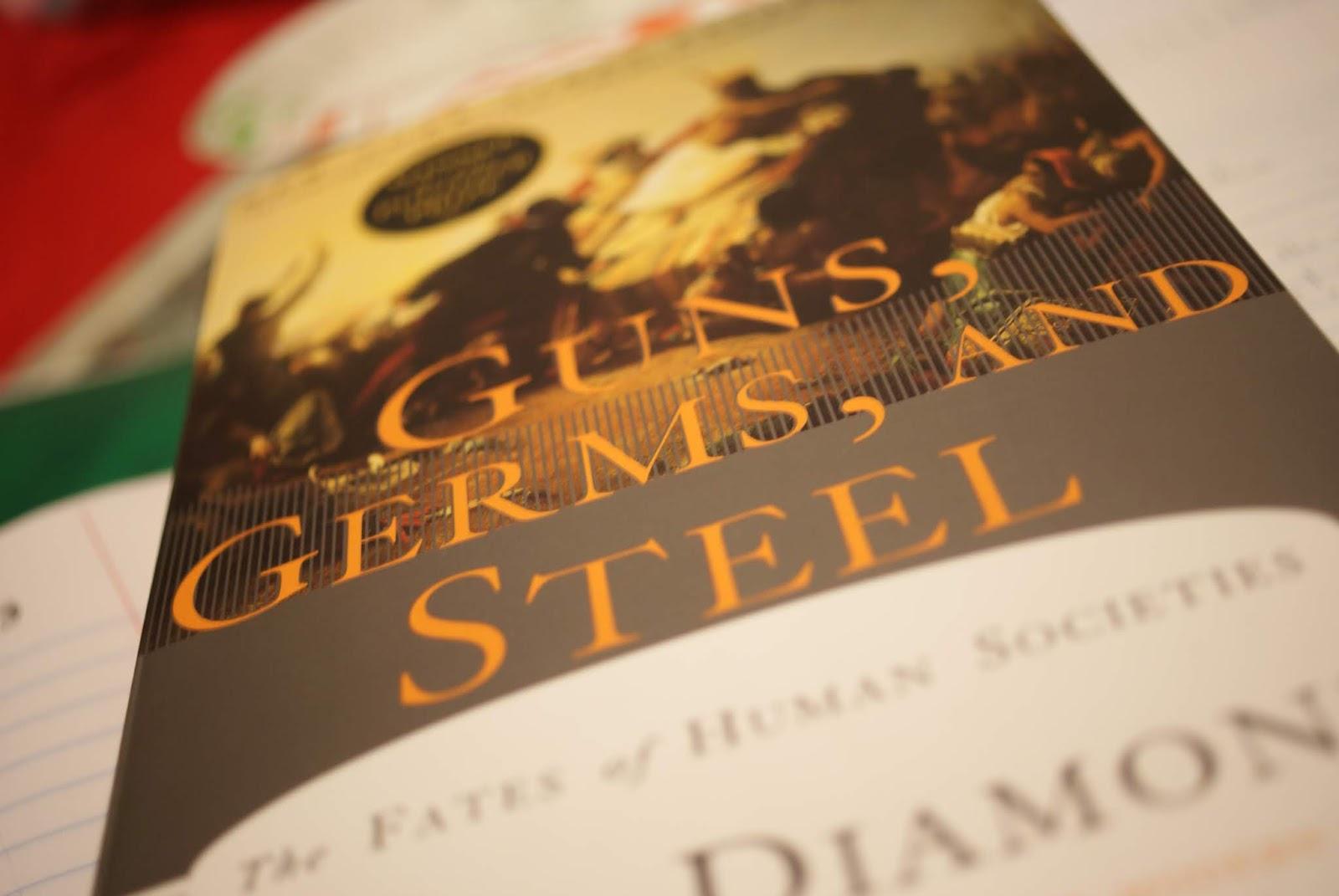 guns germs steel book