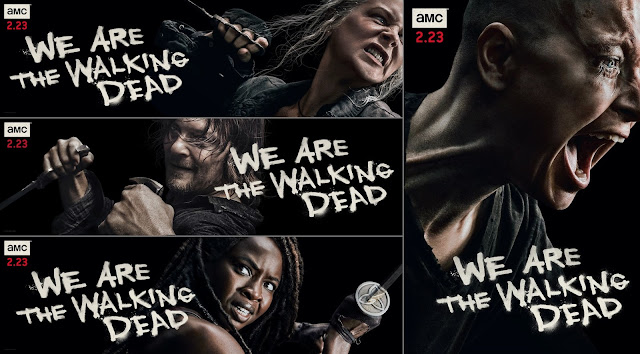 The Walking Dead - midseason key art