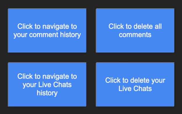 Erasure - Δωρεάν browser plug-in που διαγράφει αυτόματα όλα τα σχόλιά μας στο YouTube