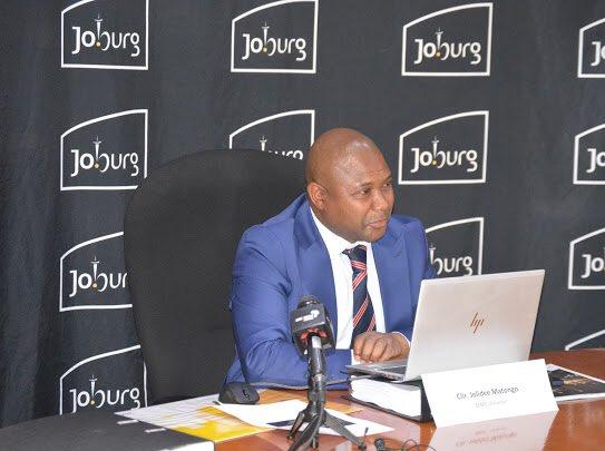 Jolidee Matongo Johannesburg mayor  dies in car crash