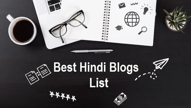 Best-Hindi-Blog-Sites-List