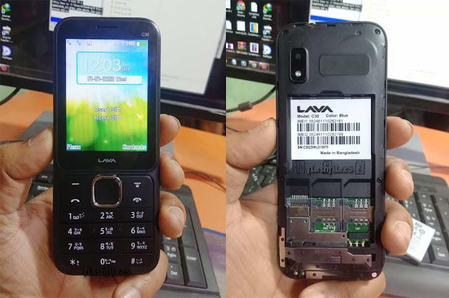 lava c30 flash file firmware