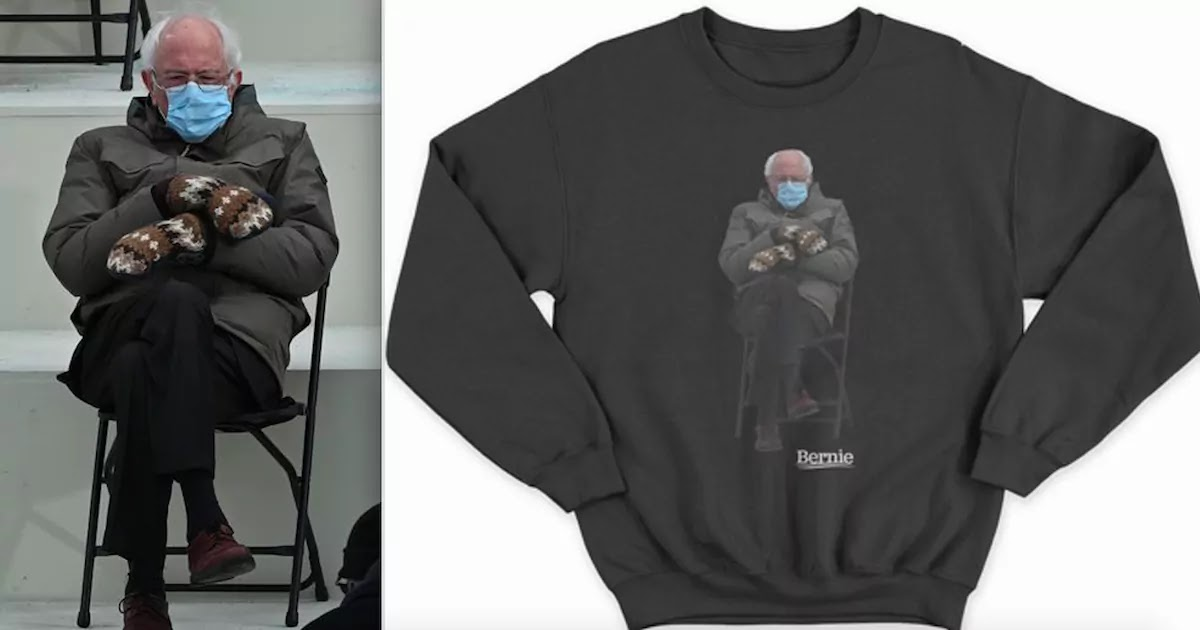 Bernie Sanders Capitalises On Meme Through Merchandise To Raise Money For Charities