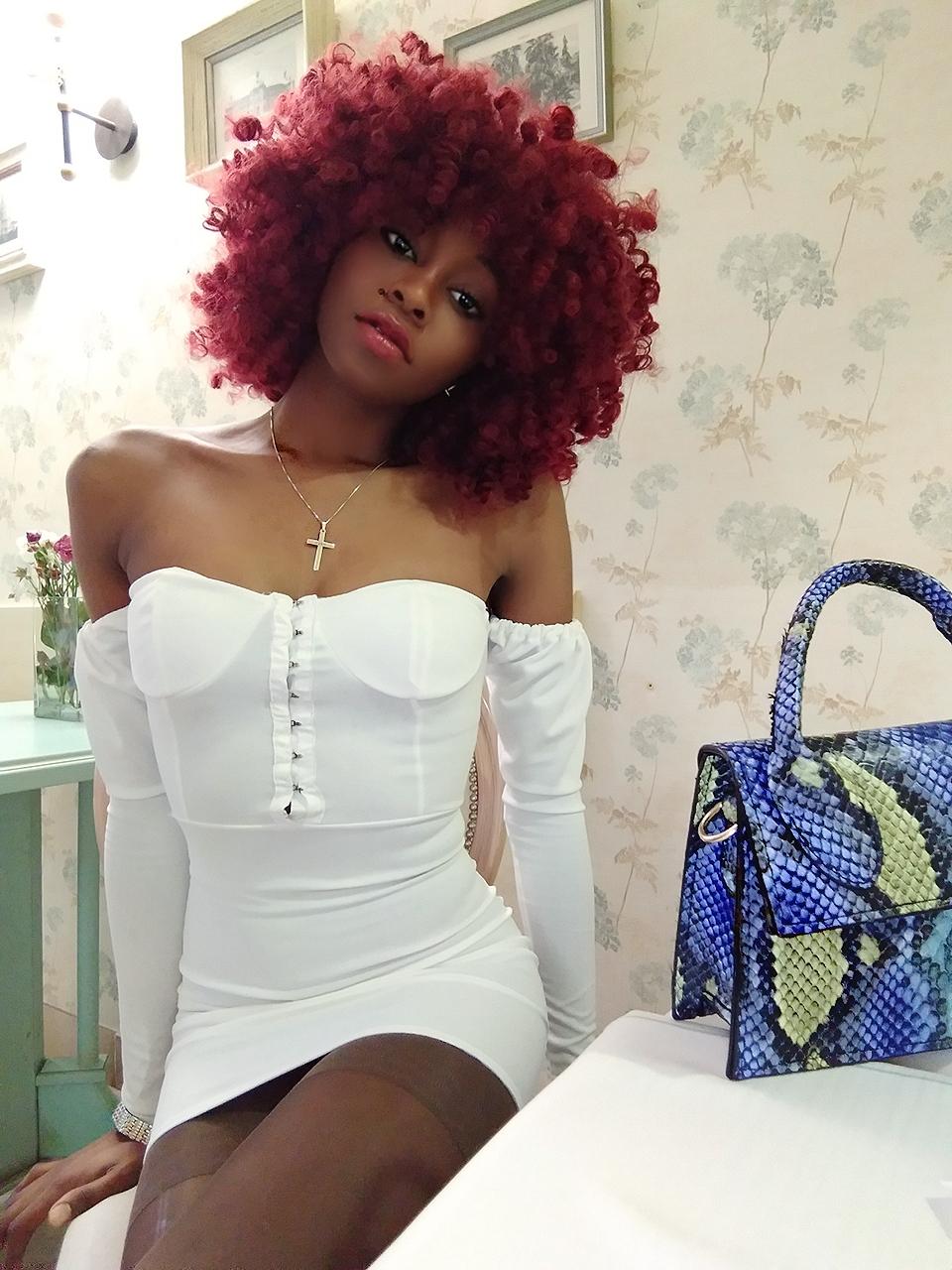 White Milkmaid Bodycon Mini Dress