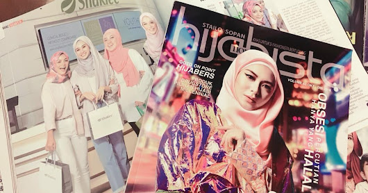 YOUTH SKINCARE MAKING AN APPEARANCE IN HIJABISTA MAGAZINE !!!