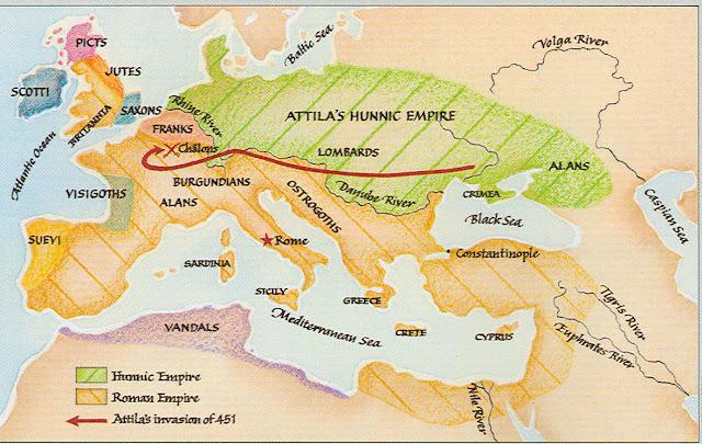 Avrupa Hunları