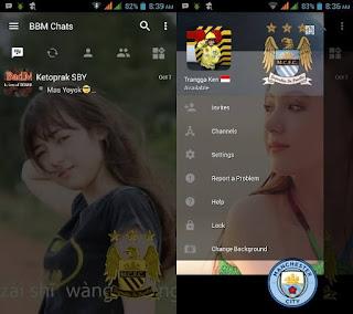 BBM MOD Manchester City Update Terbaru